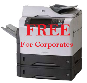 Free Canon Copier for Corporates