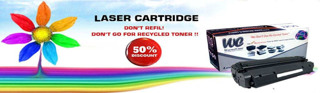 Get Laser Cartridge 50% off.